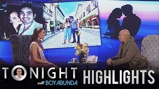 TWBA: Catriona talks about her boyfriend, Clint Bondad