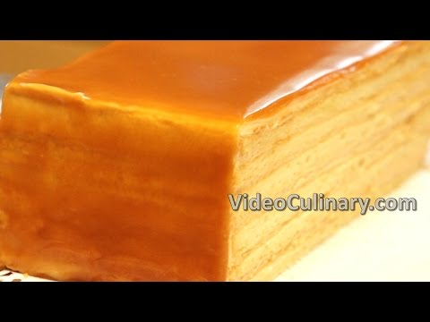 Video Caramel Layer Cake Recipe - Video Culinary