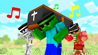 Coffin Dance Meme in Monster School - Minecraft Animation