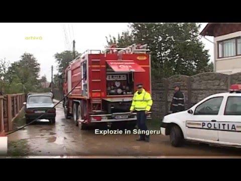 Explozie in Sangeru