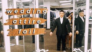 MEN'S WEARHOUSE GROOM'S TUX FITTING, VIETNAMESE WEDDING HEADPIECE DIY, + AMAZON MEAL KIT