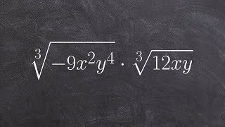 ALG2 Unit 5 Learn how to multiply the the cube root of two radical expressions