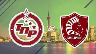 [23.07.2016]  Thái Lan TNP vs Singapore Lions [EACC 2016]