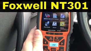 Foxwell NT301 OBD2 Scanner Review-Code Reader For Cars