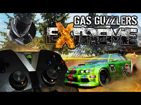 Gas Guzzlers Extreme + Микро обзор NVIDIA SHIELD Controller