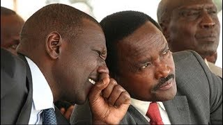 Handshake politics as Deputies William Ruto and Kalonzo Musyoka embrace each other