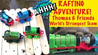 Thomas And Friends Rafting Adventure - World's Strongest Team