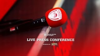 Dont miss this The PostGame Press Conference for OLYEFS Olympiacos BC Anadolu