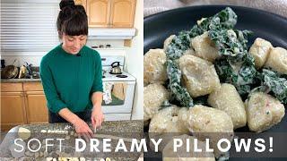 Homemade Gnocchi 2 Ways | How To Use Leftover Mashed Potatoes