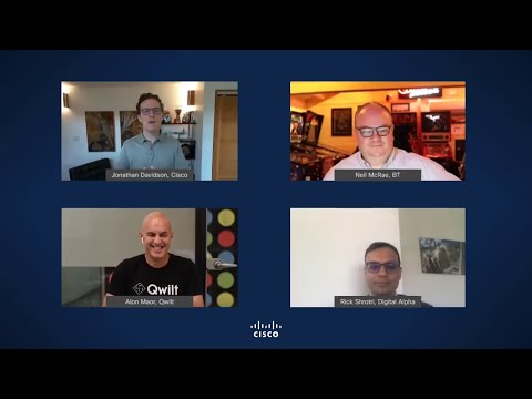 Cisco, Qwilt, and Digital Alpha discuss how they are disrupting the commercial CDN market with a new as-a-service offering based on Open Caching, with BT as the flagship customer.