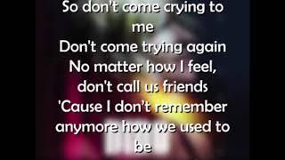 Dido    Friends Lyrics