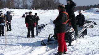 preview picture of video 'start on arctic cat xf800 snopro hc'