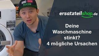 Waschmaschine stinkt - Fehleranalyse!