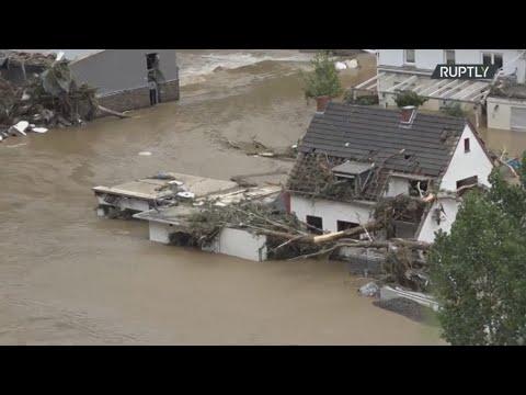 Γερμανία: Τουλάχιστον 103 οι νεκροί από τις πλημμύρες