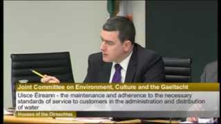 Chariman Michael McCarthy TD Tells Luke 'Ming' Flanagan TD to Shut Up