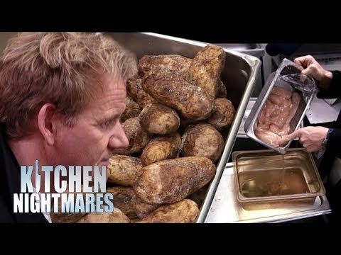Appalling Kitchen is Full of Disgusting, ROTTEN Food | Kitchen Nightmares