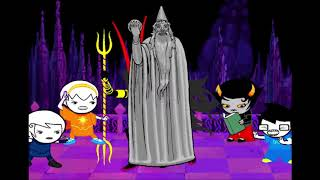 unedited footage of the first strife scene of [s] collide from homestuck