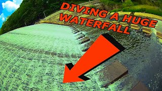 Diving a HUGE Waterfall | FPV Freestyle