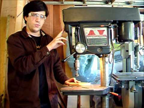 Introduction to Using a Drill Press