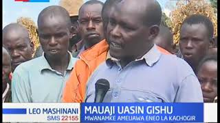 Mwanamke auawa eneo la Kachogir karibu na Eldoret, Uasin Gishu