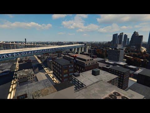 Spider-Man PS4: Inside Museum (Out of Bounds and Under Map Glitch