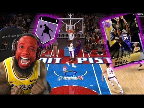 HE HAS OPAL SHAQ AT POINT GUARD! HE'S CHEATING!!! NBA 2K19
