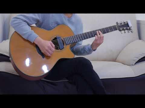 莊心妍 - 走著走著就散了(acoustic guitar solo)