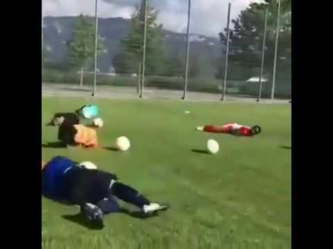 Тренировка по системе бразильского футболиста Неймара