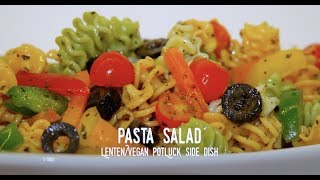 How to Make Pasta Salad for Potluck or any occasion (2018) RockinRaffi Episode 24