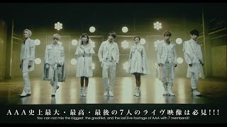 AAA / 「AAA Special Live 2016 in Dome -FANTASTIC OVER-」Digest