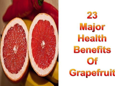 Video 23 Major Health Benefits of Grapefruit