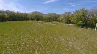 Drone FPV Freestyle!! Tree Sun and soccer field!! Drome #DJIPV #GOPRO ????????????