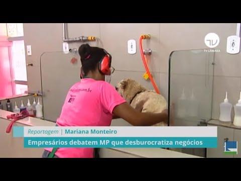 Empresários debatem MP que desburocratiza negócios - 13/05/21