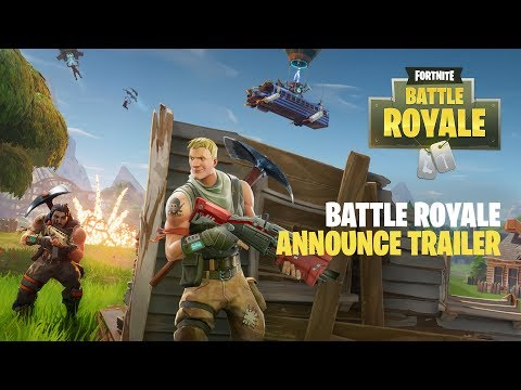 Fortnite Battle Royale – Announce Trailer