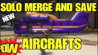 🔥NEW SOLO 💥MERGE AND SAVE MODDED AIRCRAFTS 🔥🔥🔥 GTA 5 ONLINE.  ❌NO GC2F❌