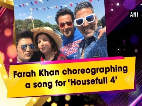 Farah Khan choreographing a song for 'Housefull 4' - #Bollywood News