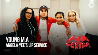 Angela Yee's Lip Service Feat. Young M.A
