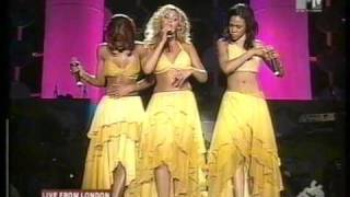 Destiny's Child - Gospel Medley (Live @ Jam In The Park 2001)