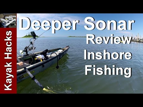 Inshore Kayak Fishing with the Deeper Smart Sonar Fishfinder Review
