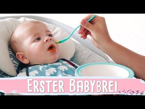 DER ERSTE BREI | Beikosteinführung & Baby dreht sich | Vlog #52