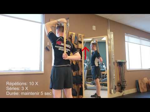 Lexercice sur la croissance du muscle jumeau