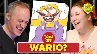 Animator Vs. Cartoonist Draw Nintendo Characters From Memory