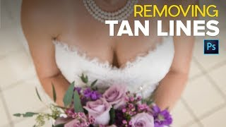 Removing Tan Lines in Photoshop