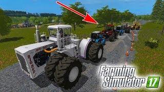РУССК�Е ТРАКТОРА ПРОТ�В ОГРОМНОГО АМЕР�КАНЦА! КТО КОГО? Farming Simulator 17