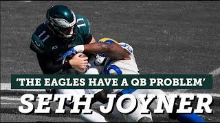 Joyner: 'The Eagles have a quarterback problem' | Eagles Postgame Live | NBC Sports Philadelphia