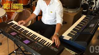 Roland E-A7 & Casio MZ-X500 | RumbaLive Trung Kien Style |