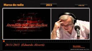 Eduardo Aliverti  Audio Editorial Del 28 /11 /2015Marca De Radio