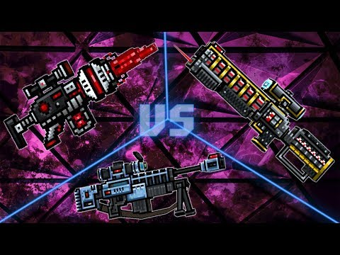 Overseer VS Revolver Sniper Rifle VS Anti-Champion Rifle - Pixel Gun 3D