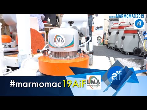 Macchine per levigatura e lucidatura pavimenti LMA Machine