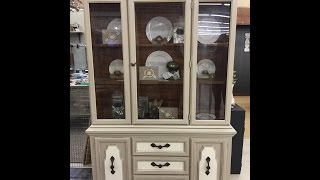 Using Tuff Top, China Cabinets, And Easter Decorating